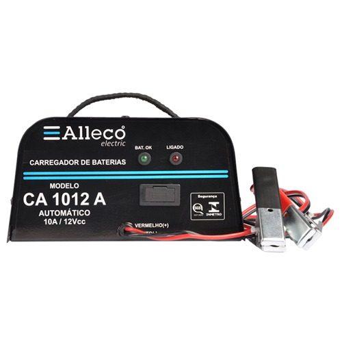 Carregador de Bateria CA 1012M Alleco